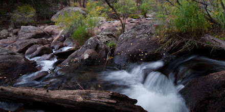 Photo: Little Waterfall on the Big Thompson River below Moraine Park, Rocky Mountain National Park