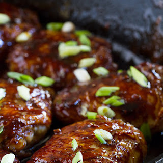 Cast Iron Teriyaki Chicken Thighs