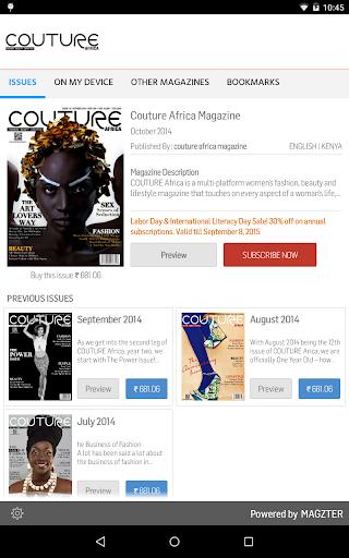 COUTURE Africa Magazine