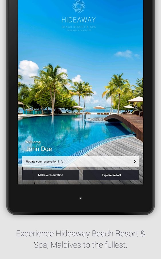Hideaway Beach Resort & Spa- screenshot
