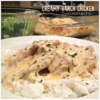 Creamy Ranch Chicken (Crock Pot Cream Cheese Ranch Chicken)