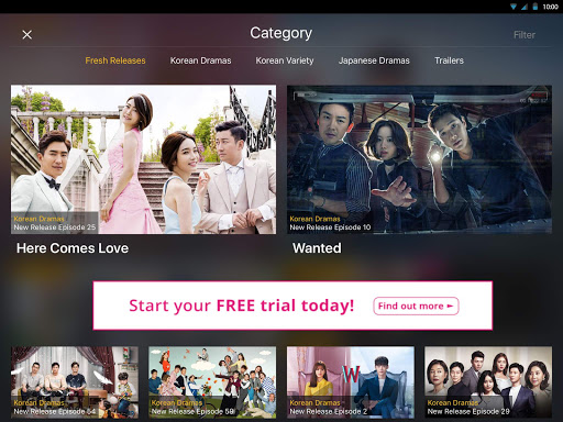 Aplikasi Viu for Tablet (apk) download gratis untuk Android/PC/Windows