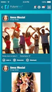 FutureNet your social app screenshot 0