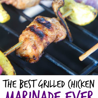 The Best Grilled Chicken Marinade Ever