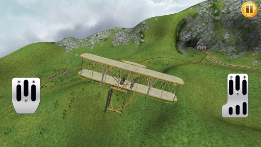 Old Airplane Sim 3D