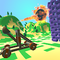 Hit The Brick - Catapult Wall Breaker Game 3D icon