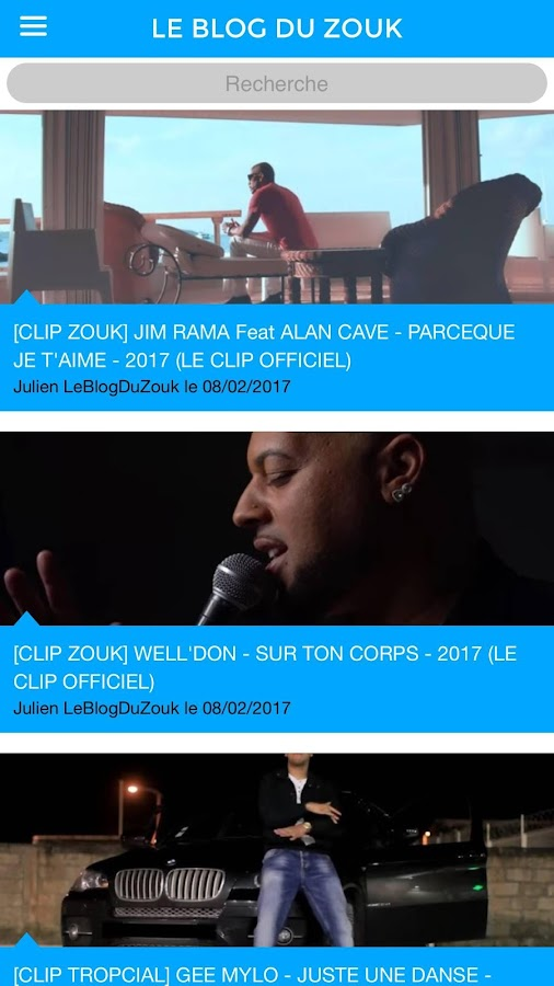Le Blog Du Zouk (LeBlogDuZouk)- screenshot