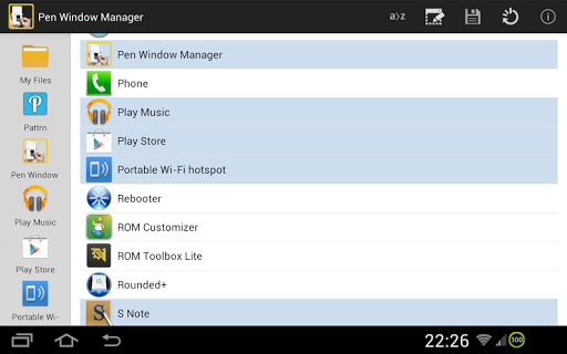 PEN Window Manager