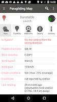 Screenshot of Paragliding Map