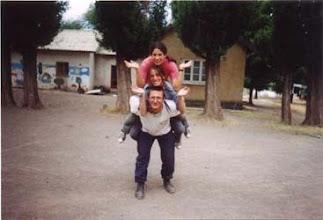 Photo: 2003 - Bariloche, Campamento anual, Postas