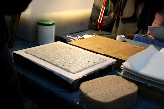 Photo: La preparazione della carta 4