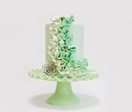 Photo: St. Patrick's ruffles by Mili's Sweets  (3/13/2012) View Cake Details Here: http://cakesdecor.com/cakes/9189