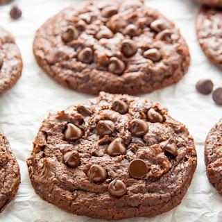 Gooey Chocolate Fudge Cookies (Vegan)