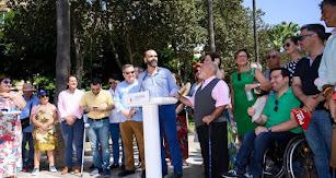 El alcalde inauguró Alfaralmería 2019.
