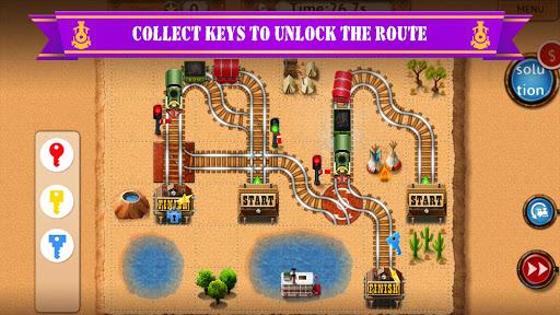 Rail Maze 2 : Train puzzler  gameplay | by HackJr.Pw 5