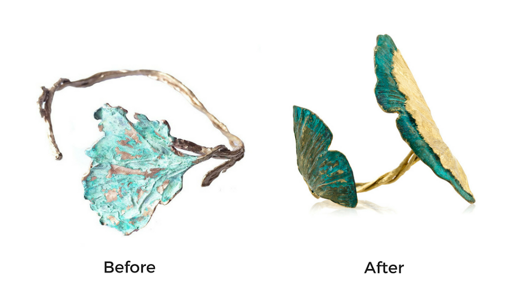 Jewelry Photography Before/After