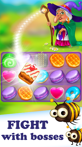 Gingy Story Deluxe: match 3 screenshot 3