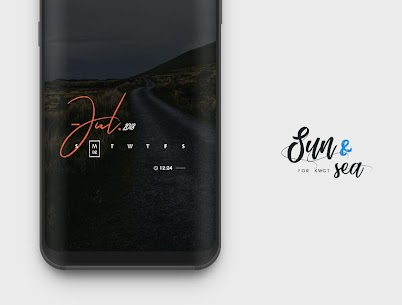 Sun & Sea for KWGT v3.2 [Paid] APK 4