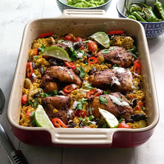 Mexican Chicken and Cauliflower Rice Recipe