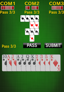 sevens [card game]- screenshot thumbnail