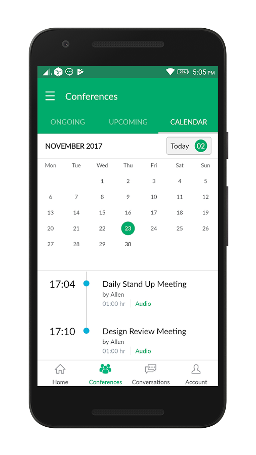 NowConfer - Conference Calls- screenshot