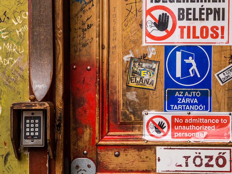 La porta invalicabile di anija