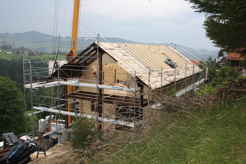 Photo: das Dach wächst zu