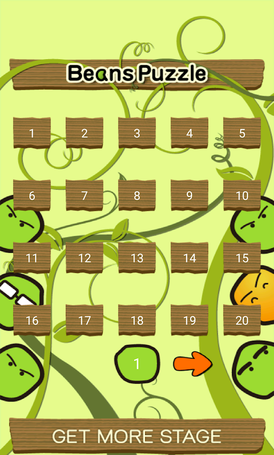 Beans Puzzle- screenshot