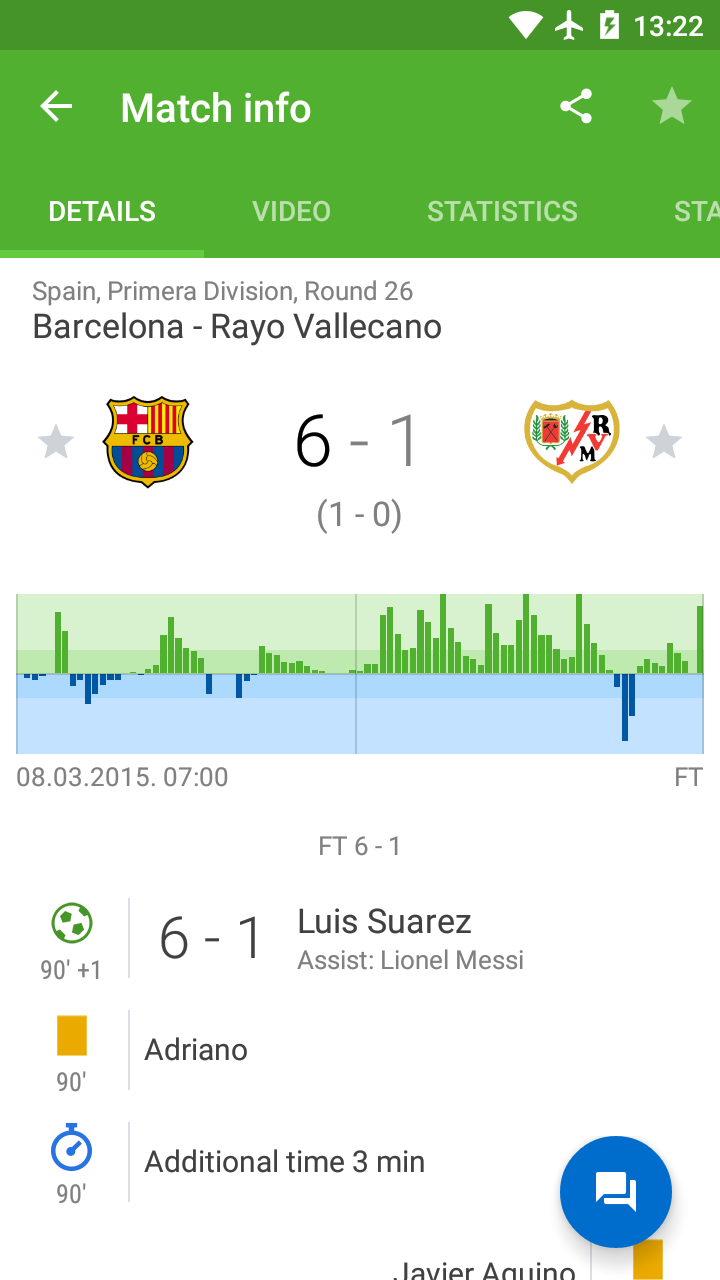 LiveScore results - SofaScore screenshot #7