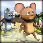 3D Jerry and Mouse Cheese Run 1.0 Apk