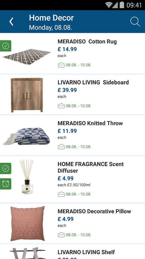 Screenshots of Lidl - Offers & Leaflets for iPhone