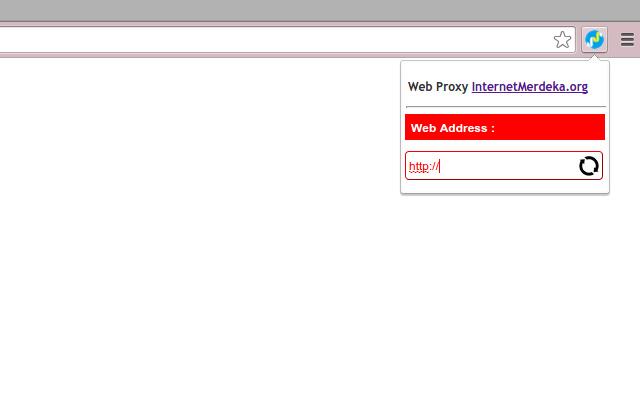 Internet Merdeka Web Proxy