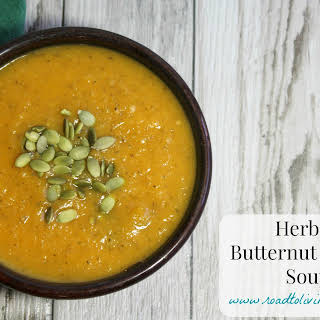Herbed Butternut Squash Soup.