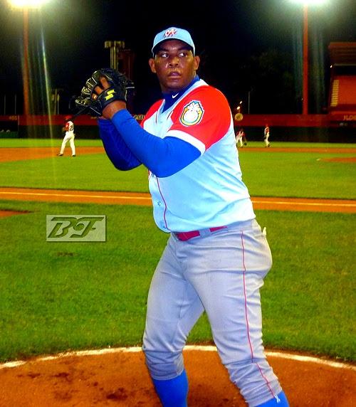 El lanzador Vladimir García