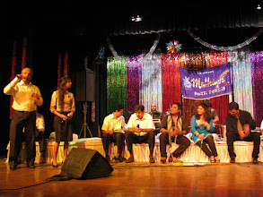 Photo: Whole group performing Chori Chori