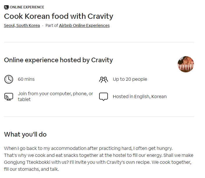 cravity airbnb