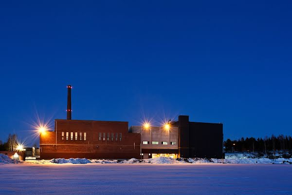 Het datacenter in Hamina