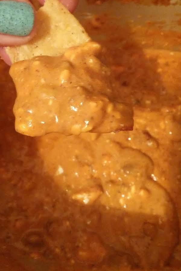 Super Fast Chili Cheese Dip