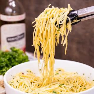 Olive Oil Pasta.