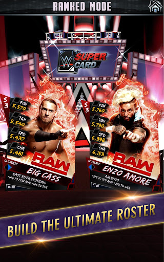 WWE SuperCard – Multiplayer Card Battle Game screenshot 2
