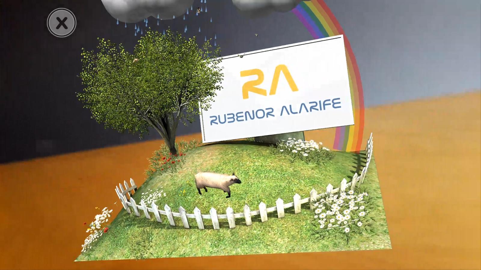 Rubenor AR: captura de pantalla