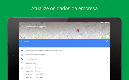 Google My Business– miniatura da captura de ecrã
