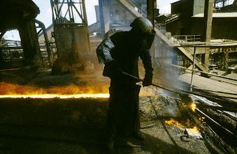 Foto: Frankreich, Longwy, Stahlindustrie, 1978 (France, Longwy, steel industry, 1978)  © Eckhard Supp