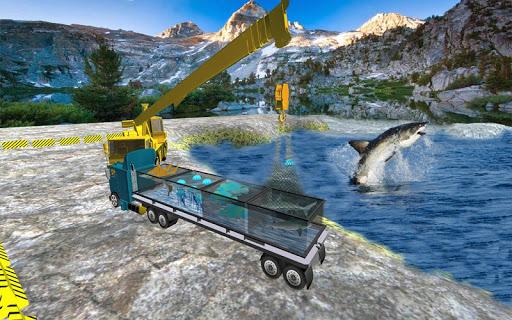 海洋動物運輸卡車