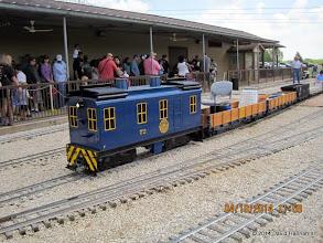 Photo: AU 72 with the Leventon Train      HALS Public Run Day 2014-0419 DH3