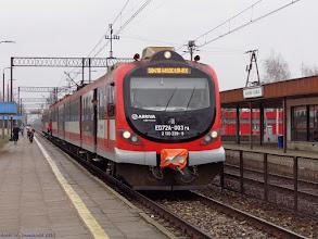 Photo: ED72A-003, Toruń Główny - Włocławek {Włocławek Zazamcze; 2015-03-14}