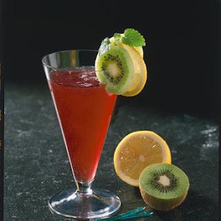 Sparkling Cherry and Elderflower Juice.