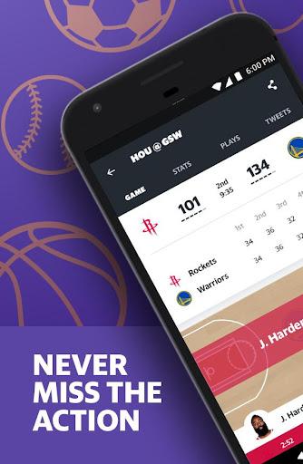 Yahoo Sports - scores, stats, news, & highlights 8.1.1 screenshots 1