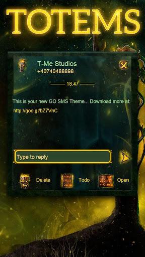GO SMS Totems