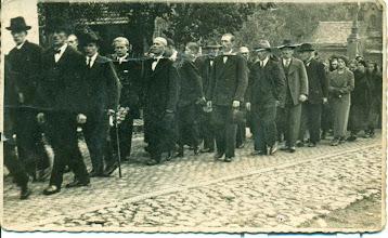 Photo: Pogrzeb Henryka Mullera.